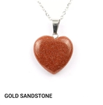 genuine stone pendant necklace