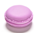 Purple macaroon jewelry/pill container
