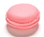 Pink macaroon jewelry/pill container
