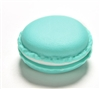 Blue green macaroon jewelry/pill container