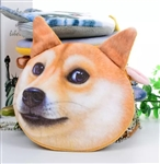 Giant dog face coin purse/wallet