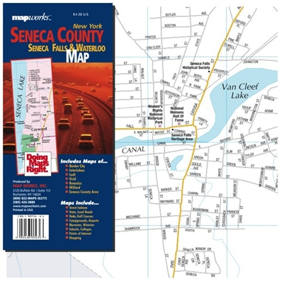 Seneca County, NY Map