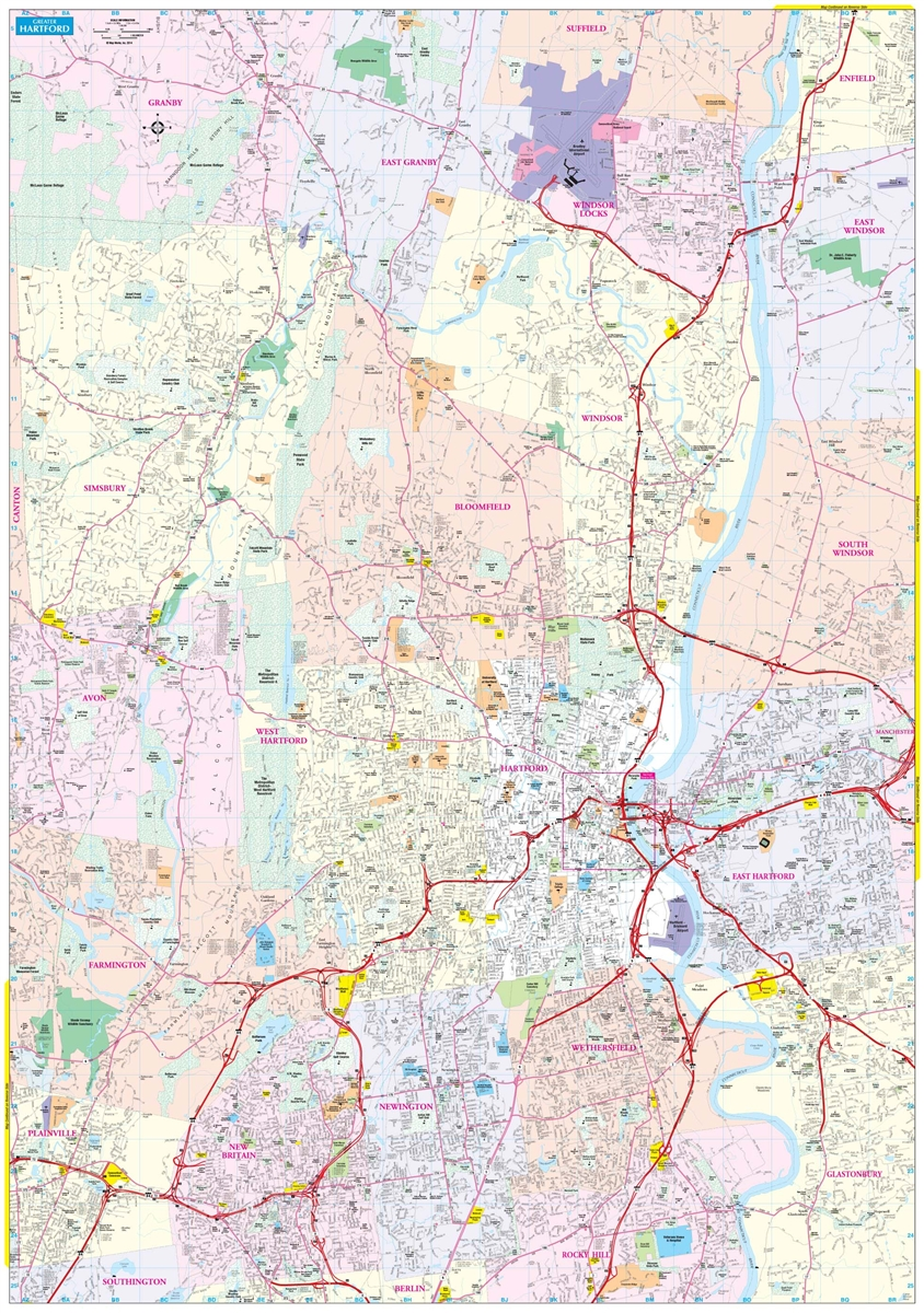 Hartford, CT Map