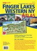 2016 EDITION LAMINATED FINGER LAKES & WESTERN NY ATLAS