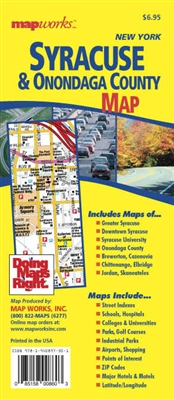 Syracuse & Onondaga County, NY Map