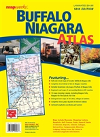 Buffalo & Niagara Atlas LAMINATED