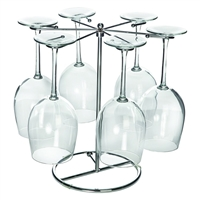 Wine Glass Drying Rack, 6 Stems
