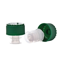 Slo-Vino Pourer Screwcap, Green, Bulk