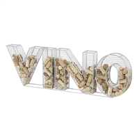 Metal Cork Collector, Vino