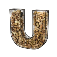"Cork Collector, Letter ""U"""