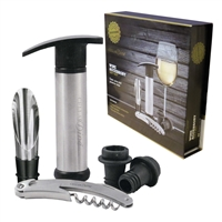 Cellar Dine Wine Accessory Gift Set