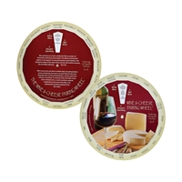Wine & Cheese Pairing Wheel