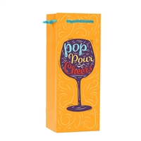 Wine Bag, Pop Pour Cheers