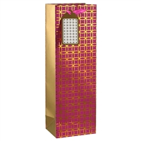 Glam Wine Bag, Magenta