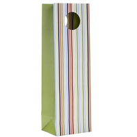 Uptown Bottle Tote, Stripes