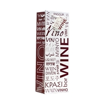 Wine Bag, Wine In Many Languages