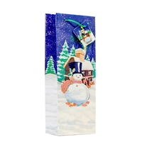 Holiday Frosty Eve Snowman Bag