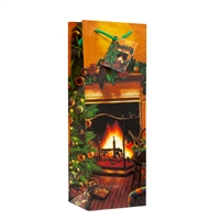 Holiday All Was Quiet Fireplace Bag