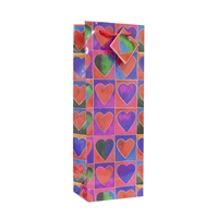 Wine Bag, Hearts