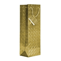 Wine Bag, Hologram, Gold