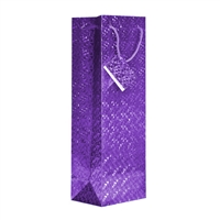 Wine Bag, Hologram, Purple