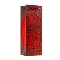 Wine Bag, Red Roses