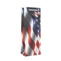 Wine Bag, Red, White & Blue