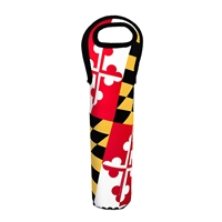 Maryland Flag 1-Bottle Tote