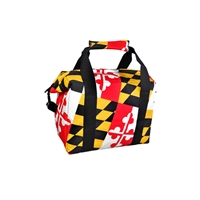 Maryland Flag Cooler Tote, Small