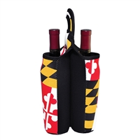 Maryland Flag 2-Bottle Tote