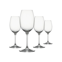 "Clearâ""¢ Shatter-Proof, White Drinkware, Set of 4"