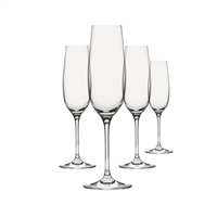 "Clearâ""¢ Shatter-Proof, Champagne Drinkware, Set of 4"