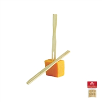 Bamboo Party Forks, 75-Count, Carded