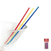 Stir & Sip Straws, 150-Count, Carded