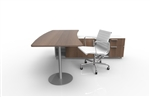 office deck and office chair