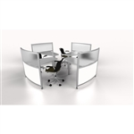 Curvilinear-Office Desk