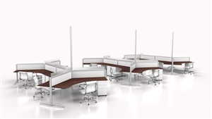120 Degree Office Desks