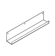 "CT2407TM,Treo, 7""H Metal Cable Trough, 18W x 3D"