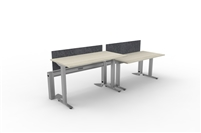 Fence & Height Adj Tables - 2 Pack Linear, Single Sided