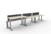 Fence & Height Adj Tables - 3 Pack Linear, Single Sided