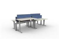 Fence & Height Adj Tables - 4 Pack Linear, Double Sided