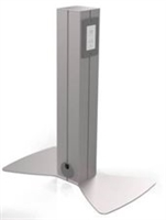"Hitch'n Post, 24"" Tall, Single Sided, 1 Power/2 USB"
