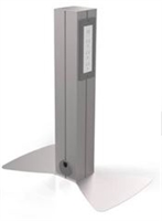 "Hitch'n Post, 24"" Tall, Single Sided, 3 Power/2 USB"