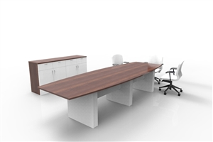 Treo Boardroom table with Buffet