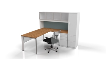 Edge Desking Private Office