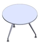 Sophi Round Table - 3 Legs