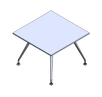 Sophi Square Table - 4 Legs
