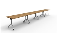 Twist Tables - Four Pack, Rectangular Surfaces, Linear