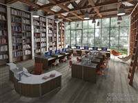 Library - Carrels and Reception