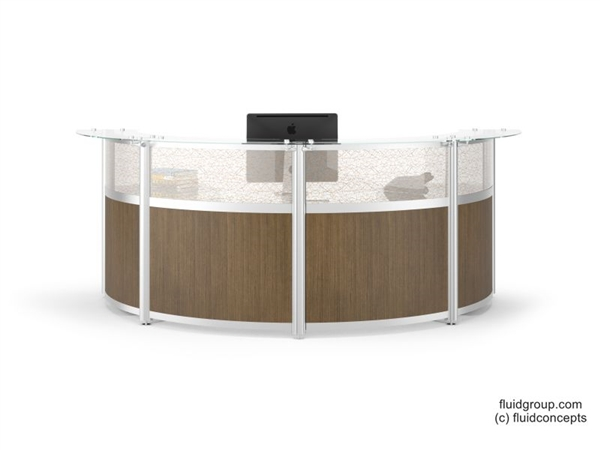 Curved Reception Station